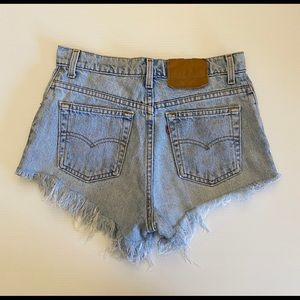 LEVI'S Cut off shorts Size 8